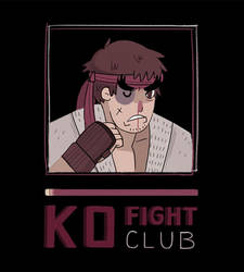 Fight Club Ryu by spicyroll