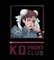 Fight Club Chun Li by spicyroll