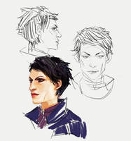 Cass sketches by spicyroll