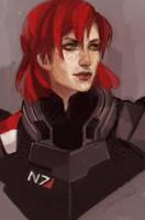 Shepard by spicyroll