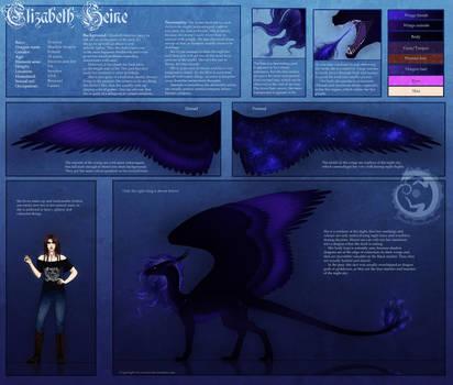 Elizabeth Heine Reference Sheet by Yowsie