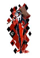 Harley Quinn by RBarragan