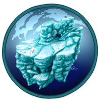 Iceburg island +speedpaint by FullOfSpaghetti