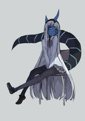 Klaxosaur Princess by Shadow2810