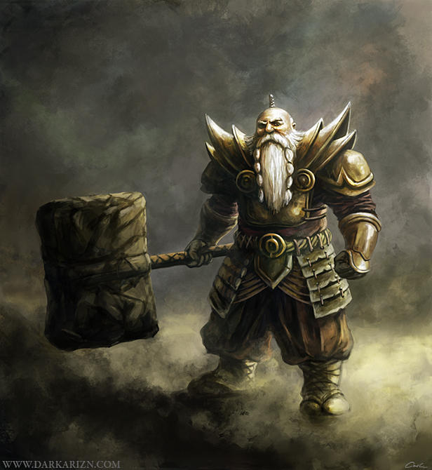 'Est'-Dwarf by KidKazuya