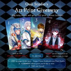 Ouji Studio Art Print GIVEAWAY by Ouji-Studio