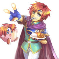 Roy and Kirby by ituki-t