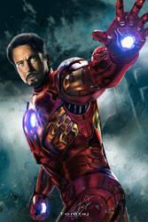 Iron-Man #Avengers by Tomtaj1