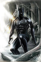 Black Panther by Tomtaj1