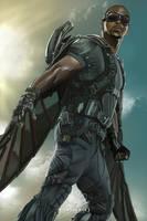 Falcon #Captain America by Tomtaj1