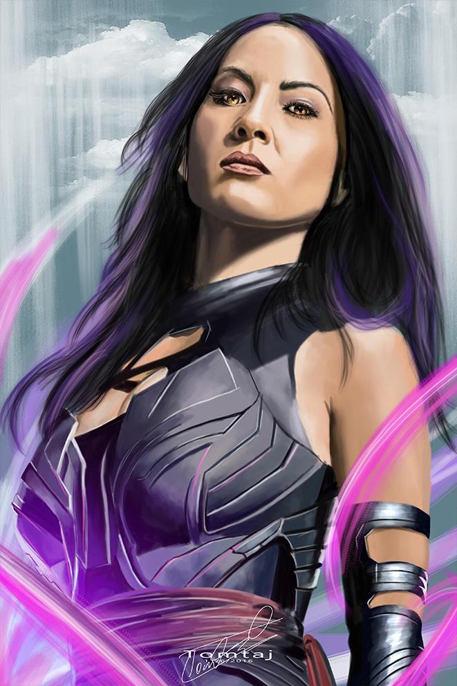 Psylocke #X-men by Tomtaj1