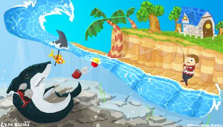 Sharken Around by LIAMODEARME