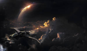 Near End- Mattepainting by megamars