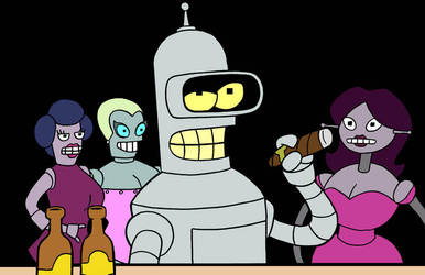 BENDER PRINT by phymns