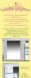 Screentone Background Tutorial by FullAnimeZone