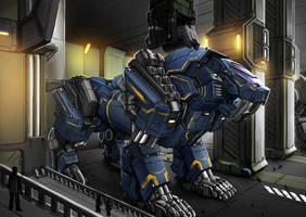 Zoids Hybrid by Bakabakero