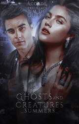 Ghost and Creatures | Wattpad Cover by gabrielemmmasjo