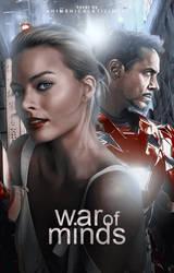 War of Minds | Wattpad Cover by gabrielemmmasjo