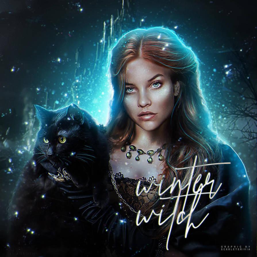 winter witch by gabrielemmmasjo