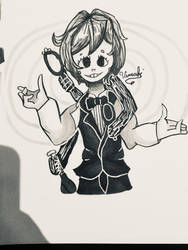 The Distortionist - FANART by Vimahi