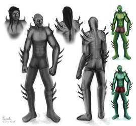 Ulns Male Concept by zevenstorms