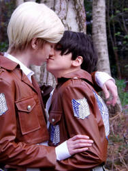 Levi and Erwin - Timeout by MadxxxHatter