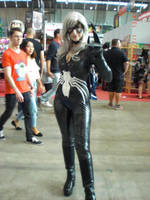 Symbiote Black Cat by Branded-Curse