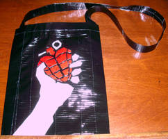 Green Day Duct Tape Purse by roamingvanity