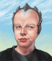 minbari self portrait by biostasis