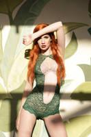 Poison Ivy boudoir by neko-tin
