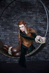 Tied Tauriel by neko-tin