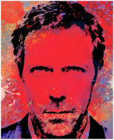 Dr House in brushes by gadddd
