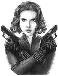 Scarlett Johansson by BabyPearlie