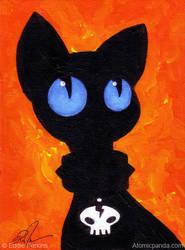 Fire Cat by EddiePerkins