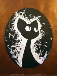 Copper Cat 2 by EddiePerkins