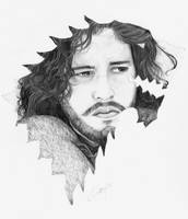 Jon Snow  Game of Thrones by ash-cc