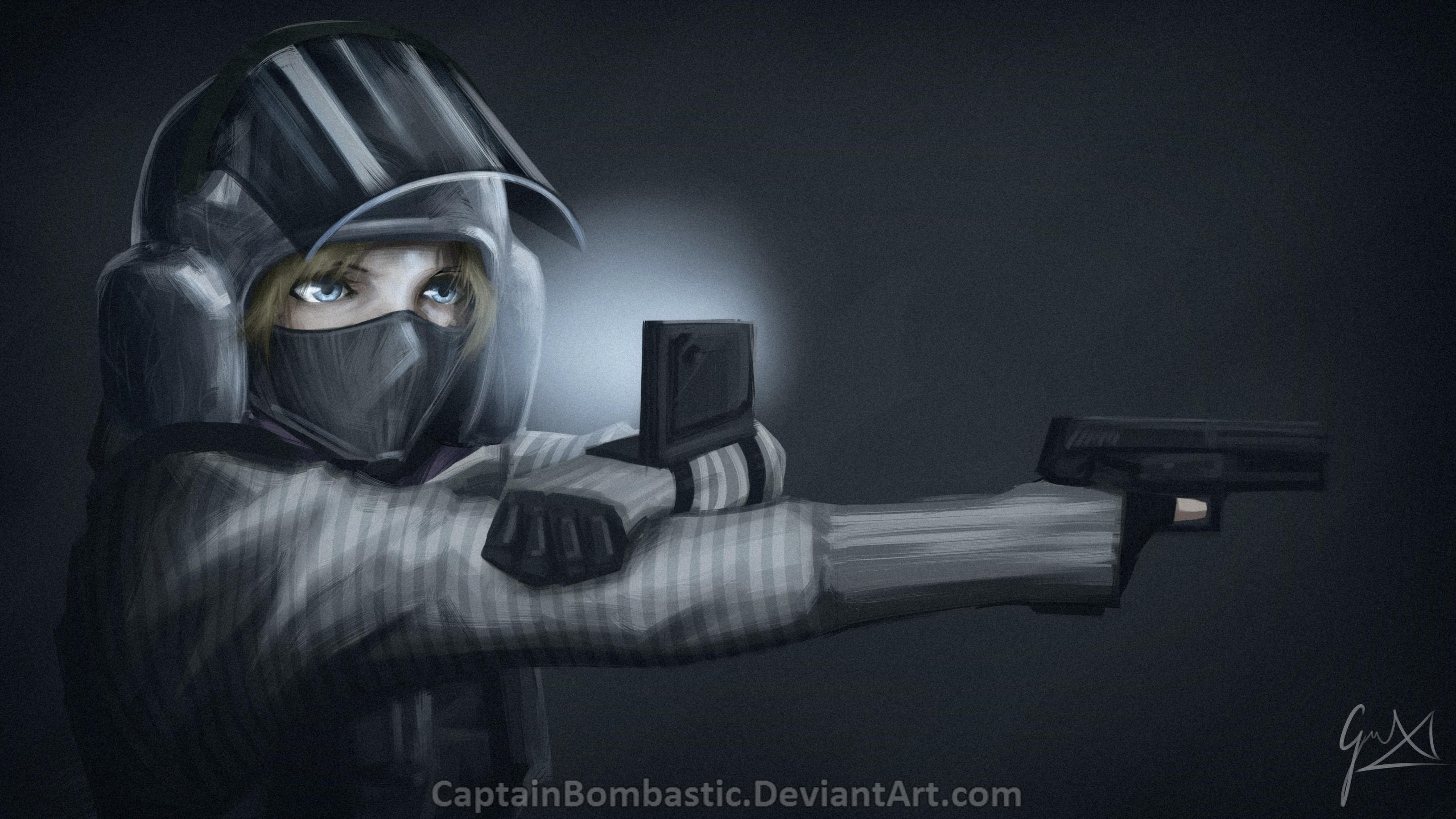 Rainbow Six: Siege - IQ by CaptainBombastic on DeviantArt