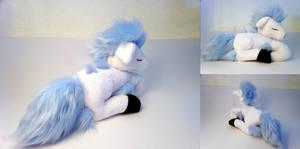 Sleeping Shiny Ponyta Plushie by Cutie-Star