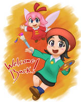Adeleine and Ribbon by PaoOfTheStars