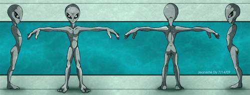 Alien Turnaround by ArcaneAvis