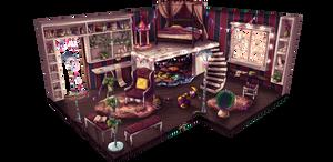 Cookie Carpets and Pillowforts by Majinji