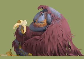 orangutans by SuperPLLC