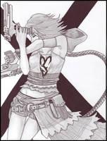 Yuna - Final Fantasy X-2 by Sarah-Vafidis