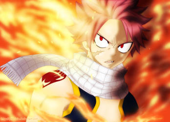 Natsu (Fairy Tail, chapter 477) by iPhenixia