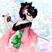 Muramasa-momohime1 by SweetieMoon