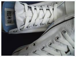 White Converse by ale1985