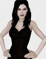 Lara in Dress by AlexCroft25