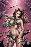 Witchblade Illustration by Carl-Riley-Art