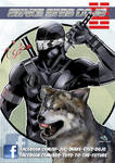 snake eyes 2 COLOURS Low-res by Carl-Riley-Art