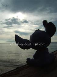 .:lonely stitch:. by EbilAshley